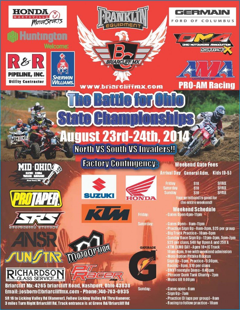 2014 Battle Flyer